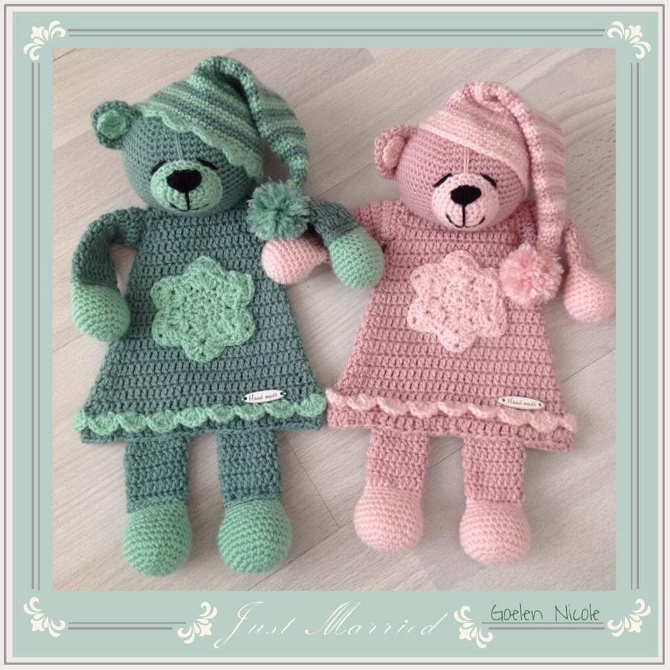 Adorable Bedtime Bears Inspiration Only No Pattern