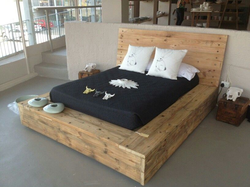 Cool wood bed
