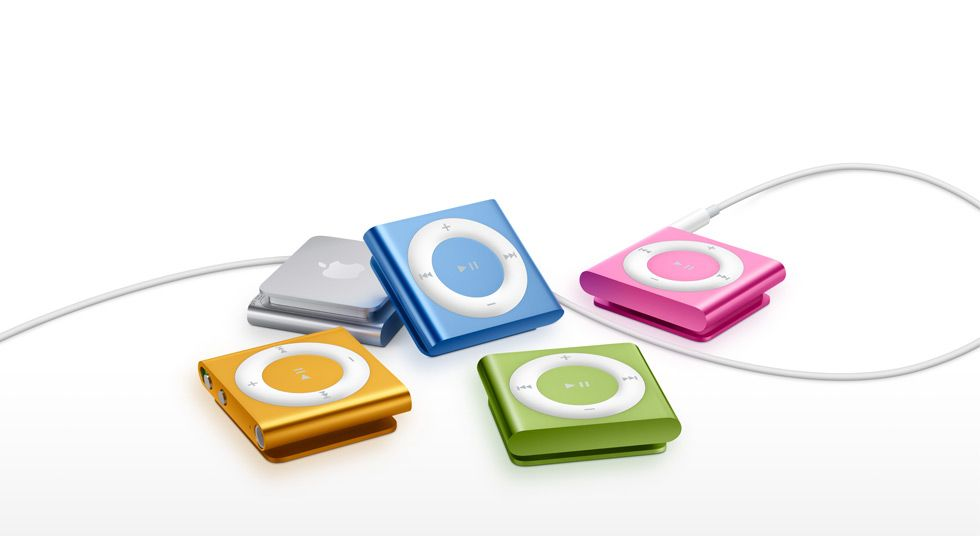 iPod Shuffle. Want this generation, got 2G already. Perfect for training!