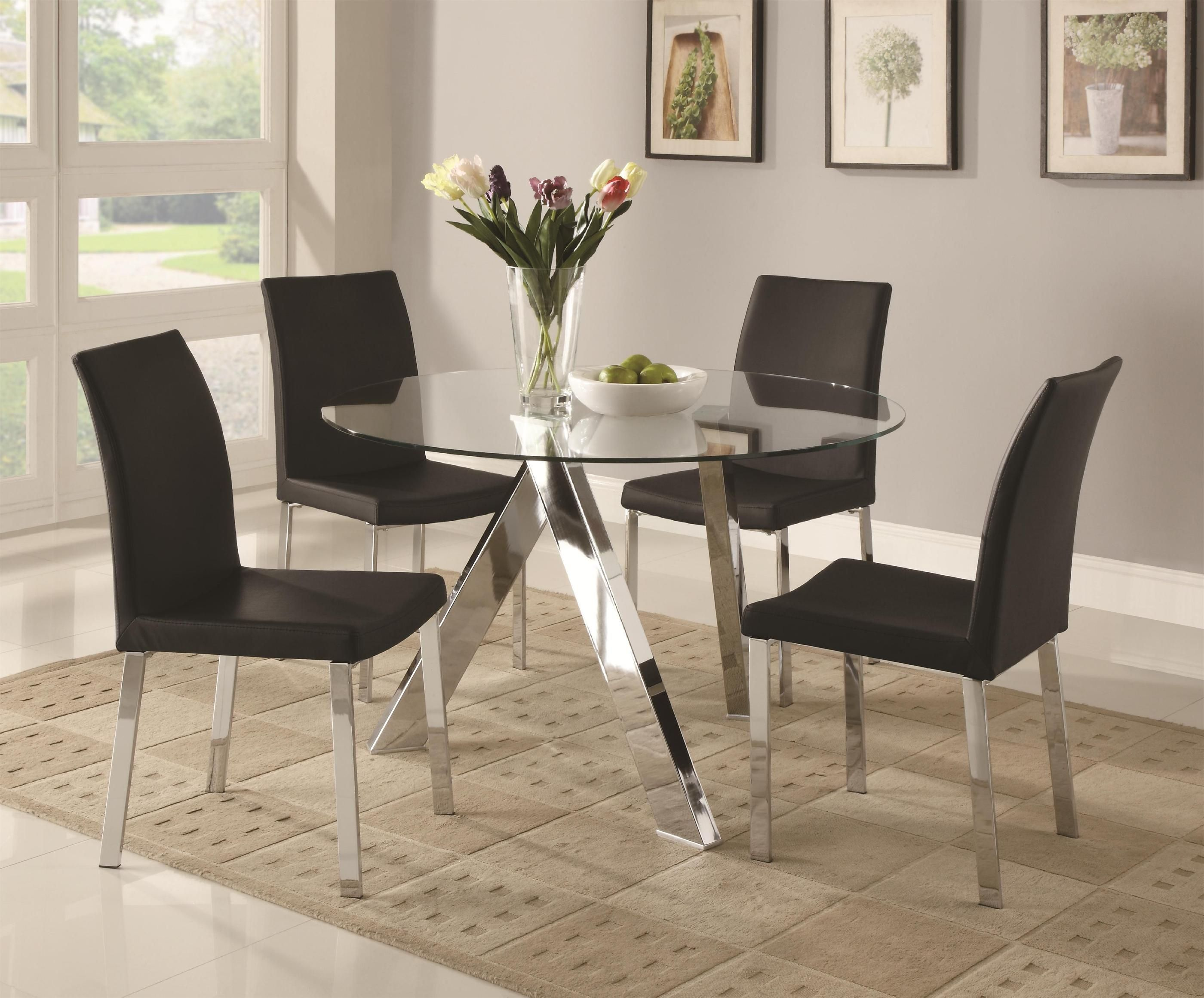 Glass Dining Table Room Furniture Images Set The Marvellous Digital Photography Part For Even
