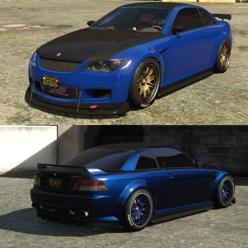 Best Cars to Customize in GTA 5 Online Blue Ubermacht Sentinel XS ...