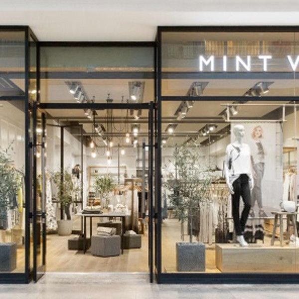 Shop Front Design Retail: Mint Velvet Opens First Standalone Mall Store