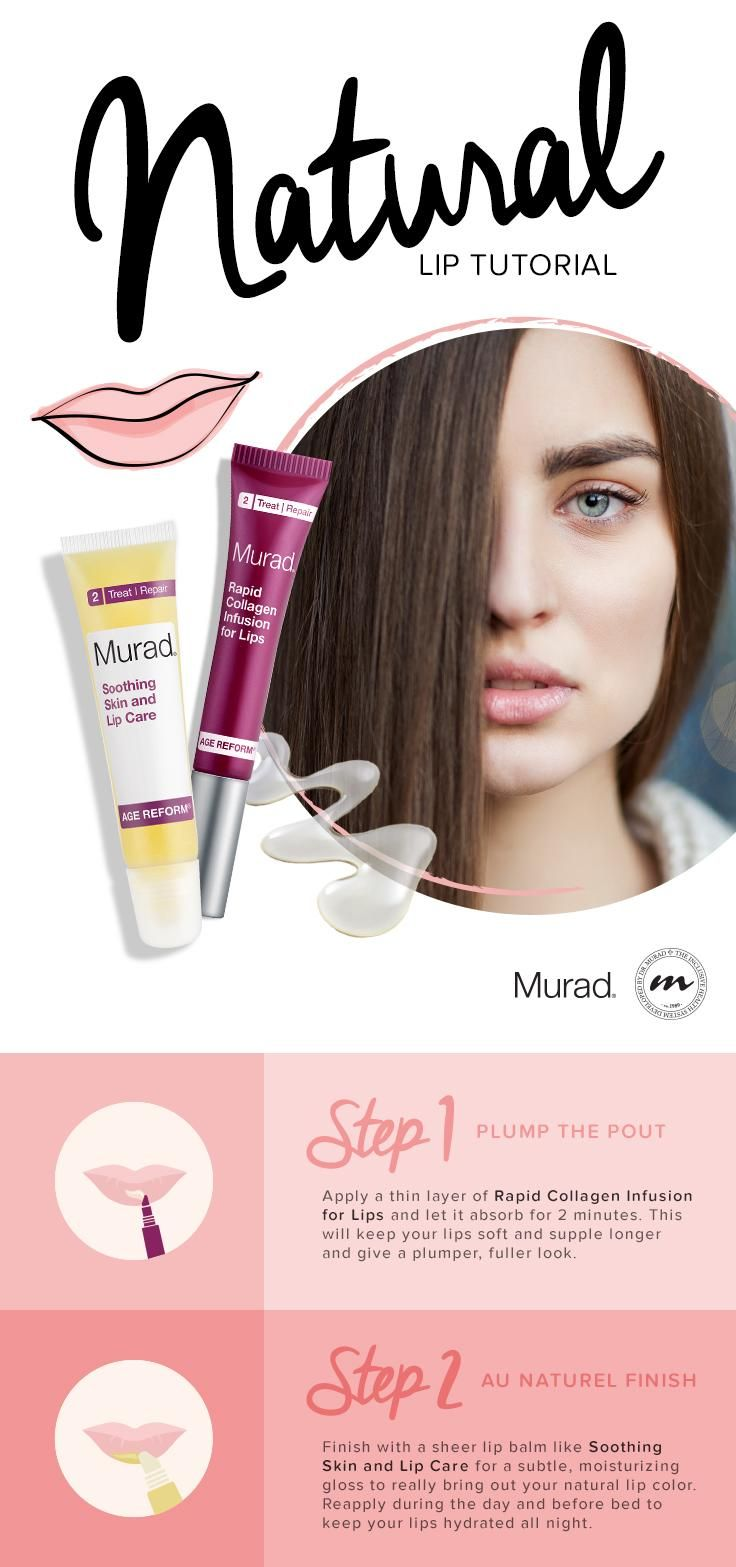 Get the Look — The Perfect Natural Lip The Murad Skin