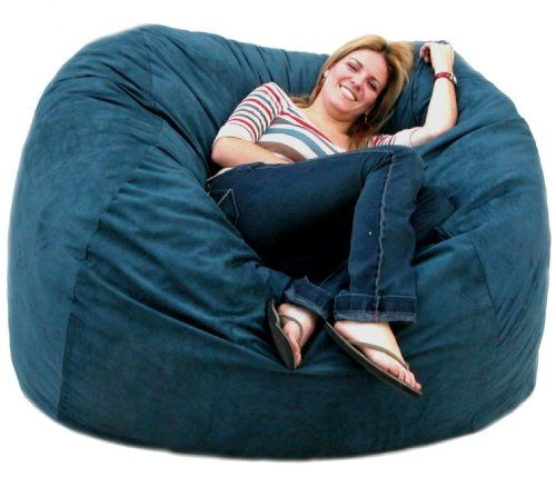 The Cozy Sac Foam Chair Is The Most Comfortable Place To Sit