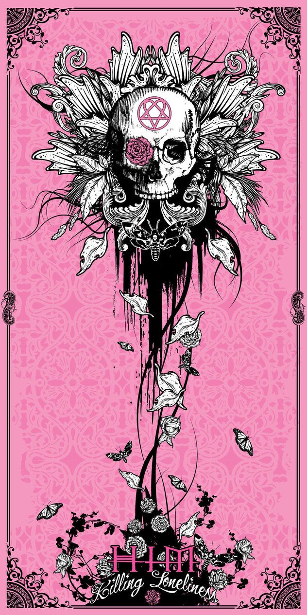 Skulls: #Skull flower.