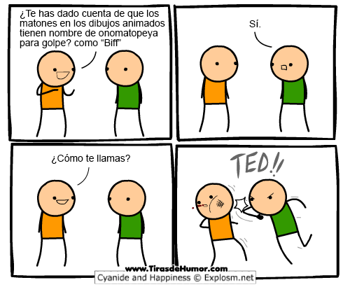 Cyanide and Happiness - onomatopeya