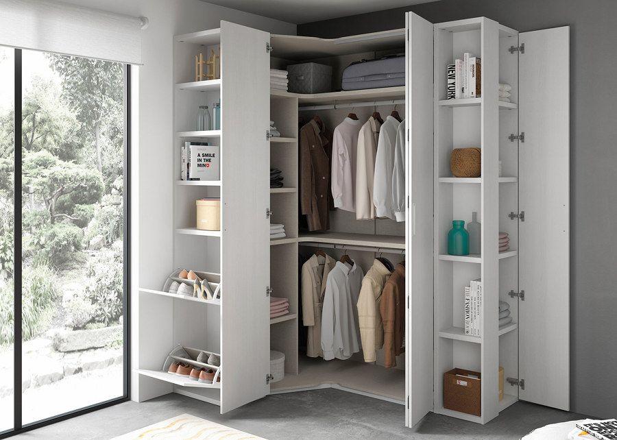 Resultado de imagen de interior armarios peque os wc decorar armario muebles dormitorio y Decorar armarios empotrados