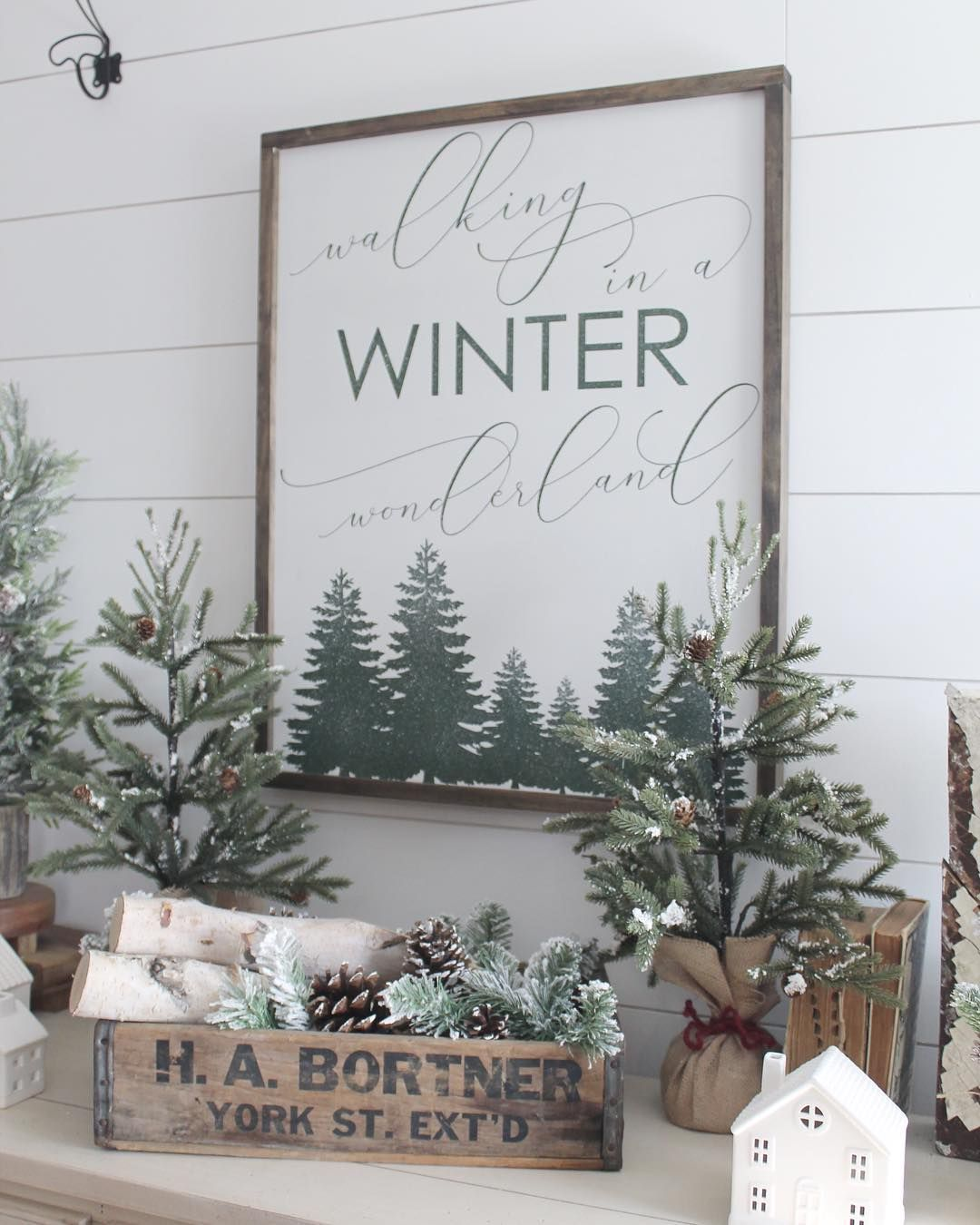 Julie On Instagram I Guess It Is Time To Start Taking Down My Winter Wonderland And I Don T Want To Bu Winter Wonderland Christmas Tree Farm Tree Farms
