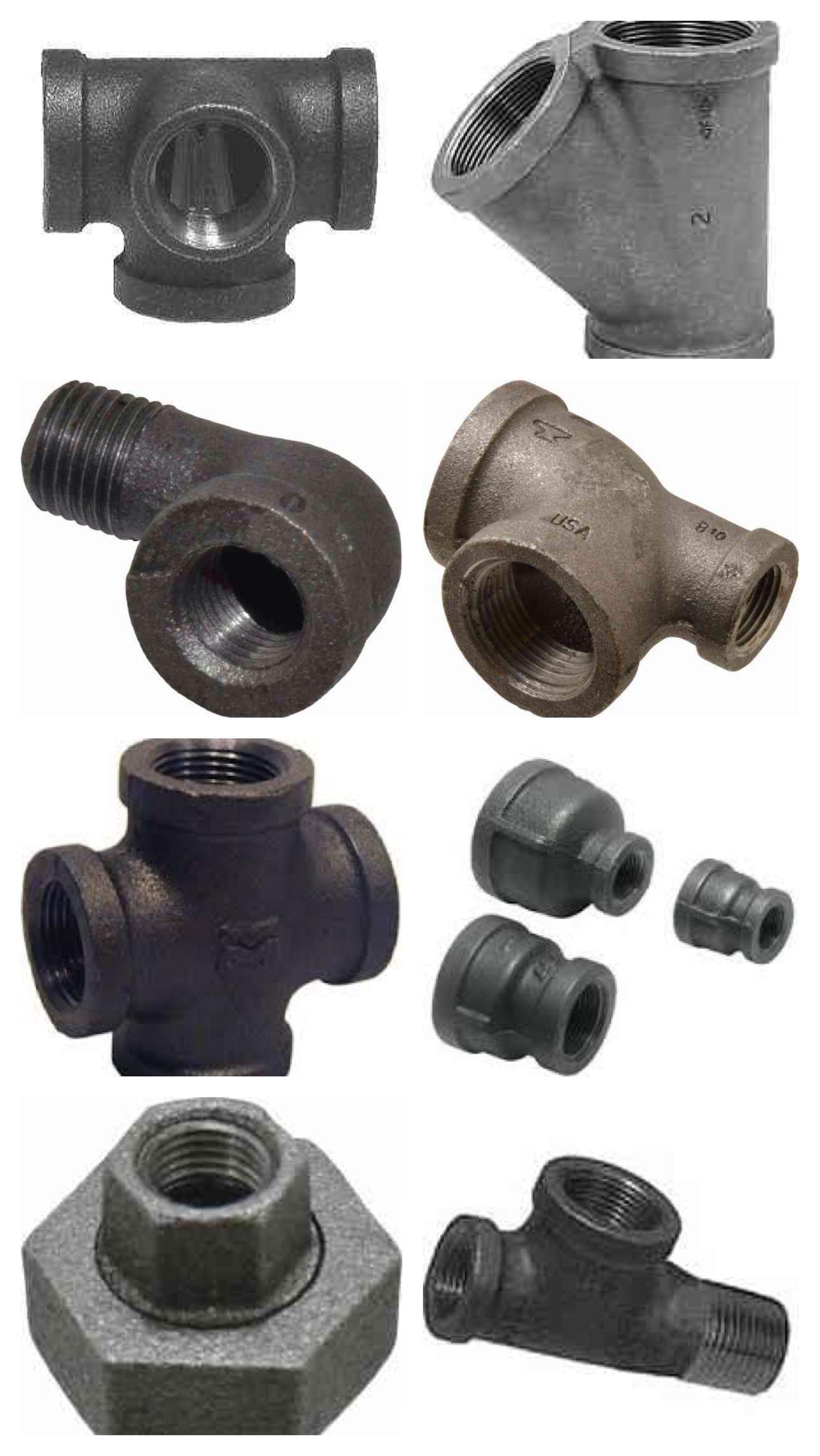 Some interesting fittings you might not find at home depot these