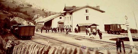 Antigua estación de Pola de Lena