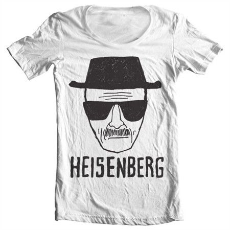 Check it out now....Heisenberg Sketch...  http://www.tshirt-sjappa.no/products/heisenberg-sketch-wide-neck-tee?utm_campaign=social_autopilot&utm_source=pin&utm_medium=pin