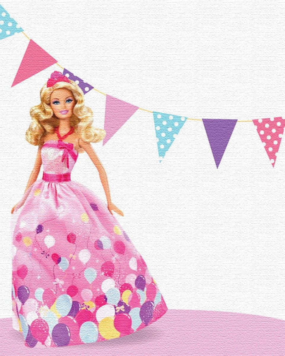 lily s barbie birthday party editable