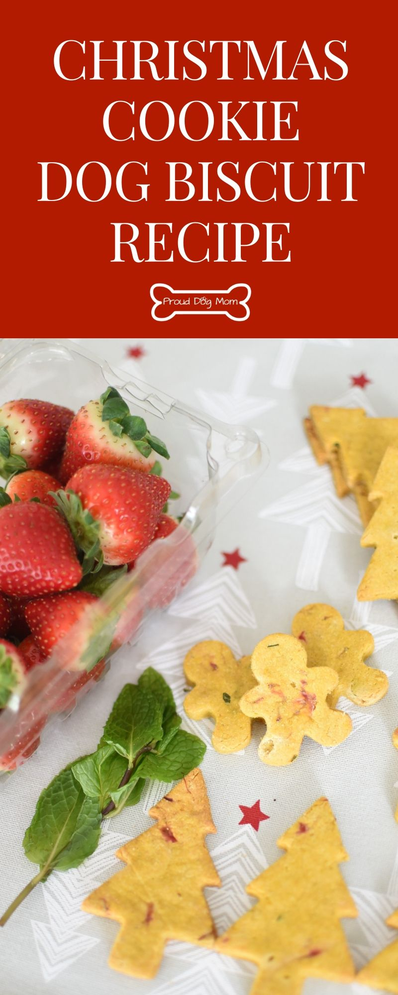 Christmas Cookie Dog Biscuits Recipe Dog Biscuit Recipes Dog