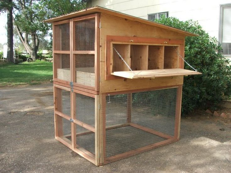 13 Simple and Easy Backyard Chicken Coop Plans - Hühner -