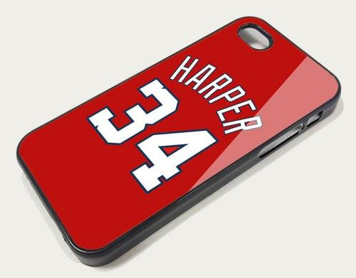 Bryce Harper Washington Nationals iphone case