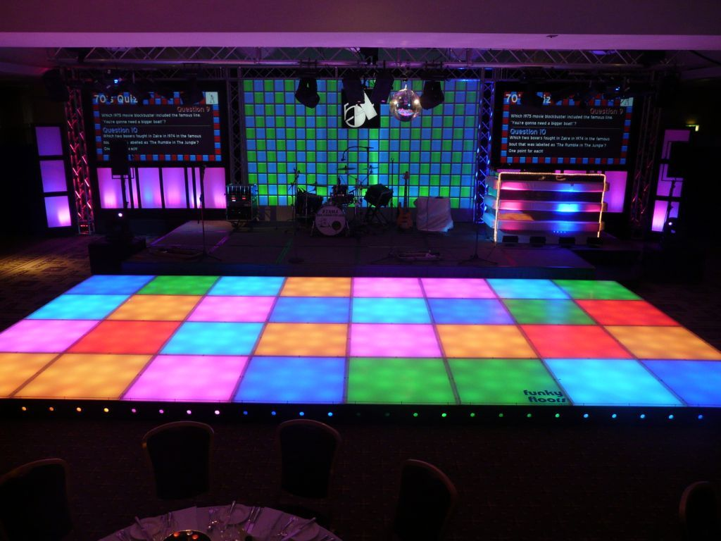 Disco Floor Http Www Led Dance Co