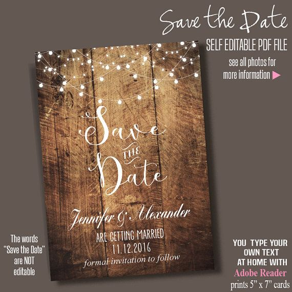11 Beautiful And Free Save The Date Templates Save The Date Templates Diy Save The Dates Free Wedding Templates