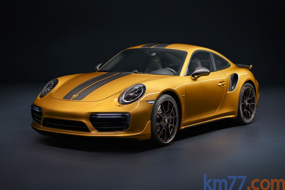 Porsche 911 Turbo S Exclusive Series Exclusive Series Coupé Golden Yellow Metallic (2017)