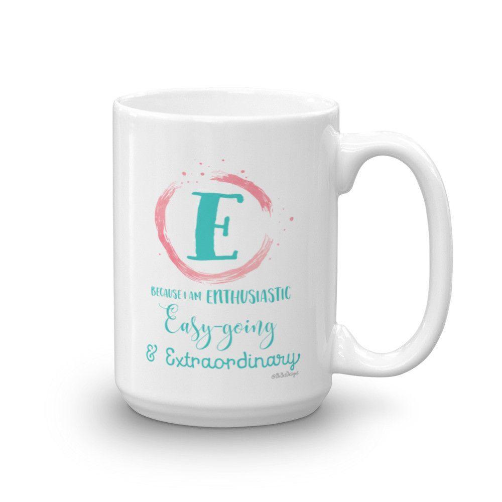 Mug - Letter E
