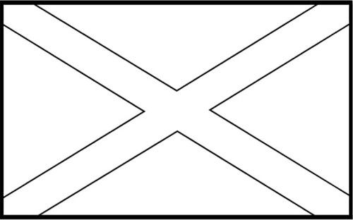 Flags of jamaica coloring pages for kids kids coloring for Jamaica flag coloring page