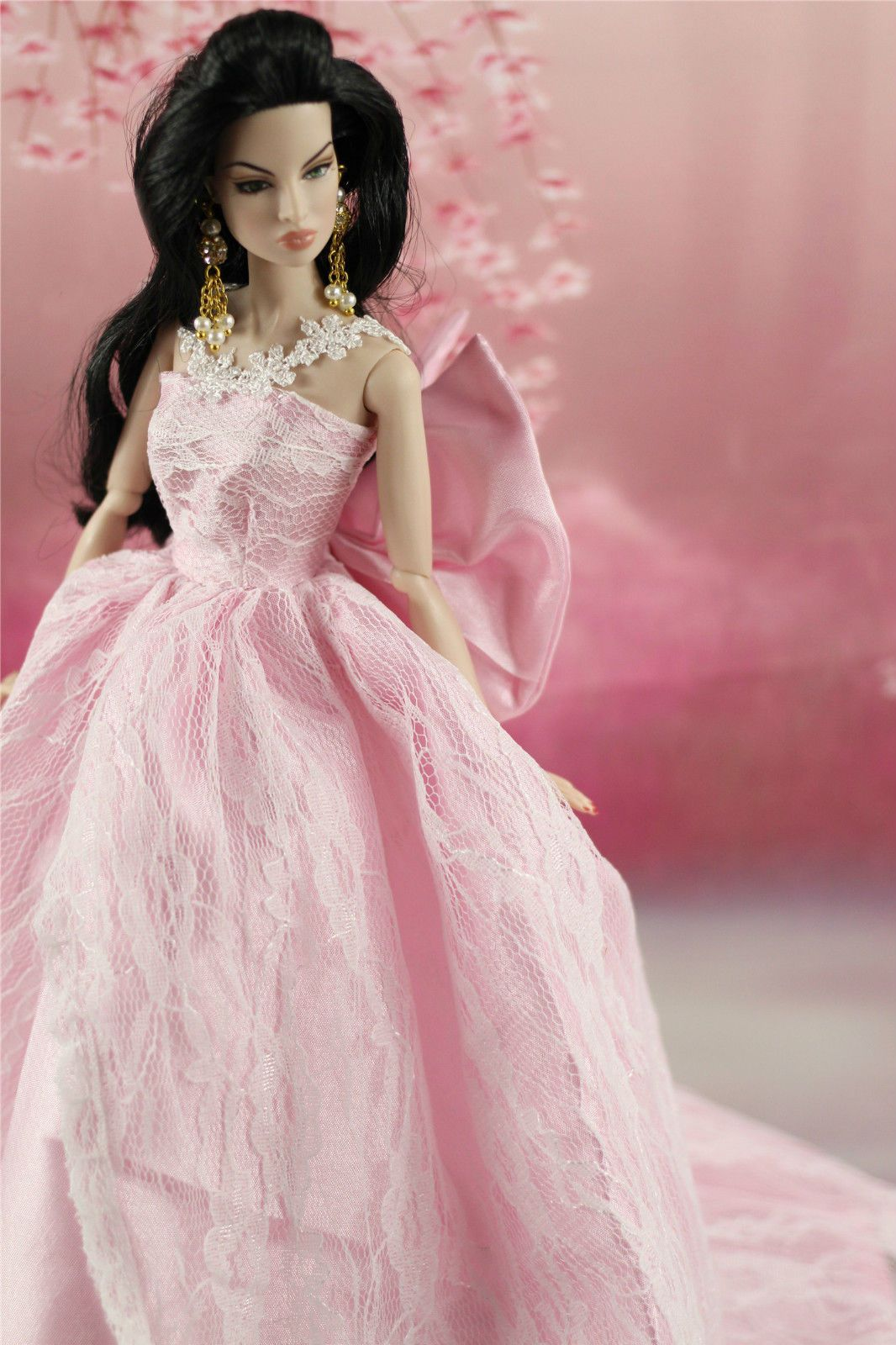 Fashionistas Hochzeit Kleidung Prinzessinnen Kleider Für Barbie ...