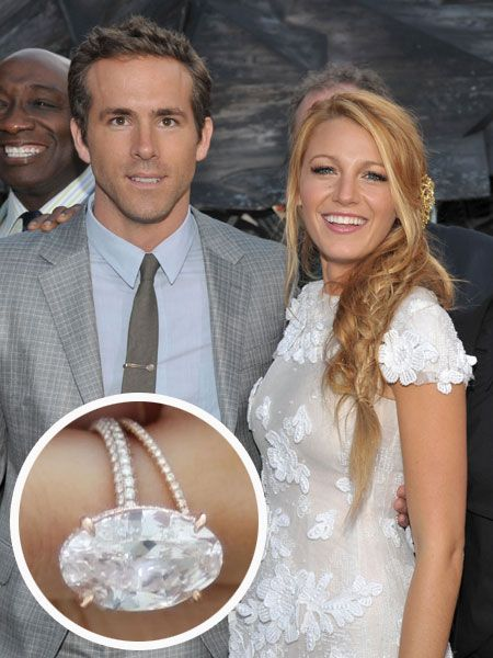 blake lively and ryan reynolds engagement ring lorraine