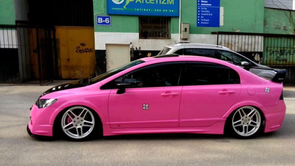 Honda Hayat Onda Resimler Tuning Ve Modifiye Honda Jdm Honda Pink Car