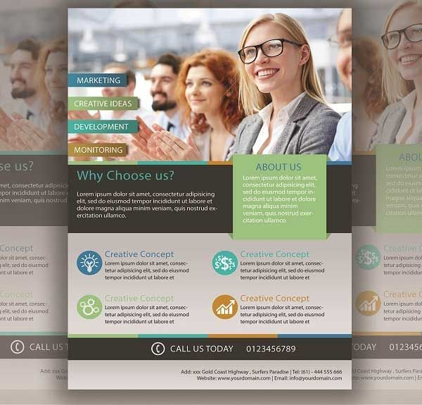 Business Flyer Template Free Psd Download Promo Flyer Pinterest