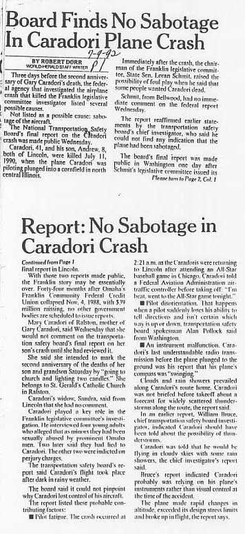 The Franklin Scandal - Caradori