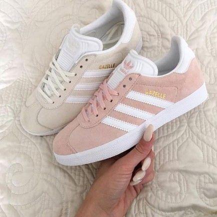 Womens Adidas Gazelle LifeStyle Shoes Pink  4bb737a1e42