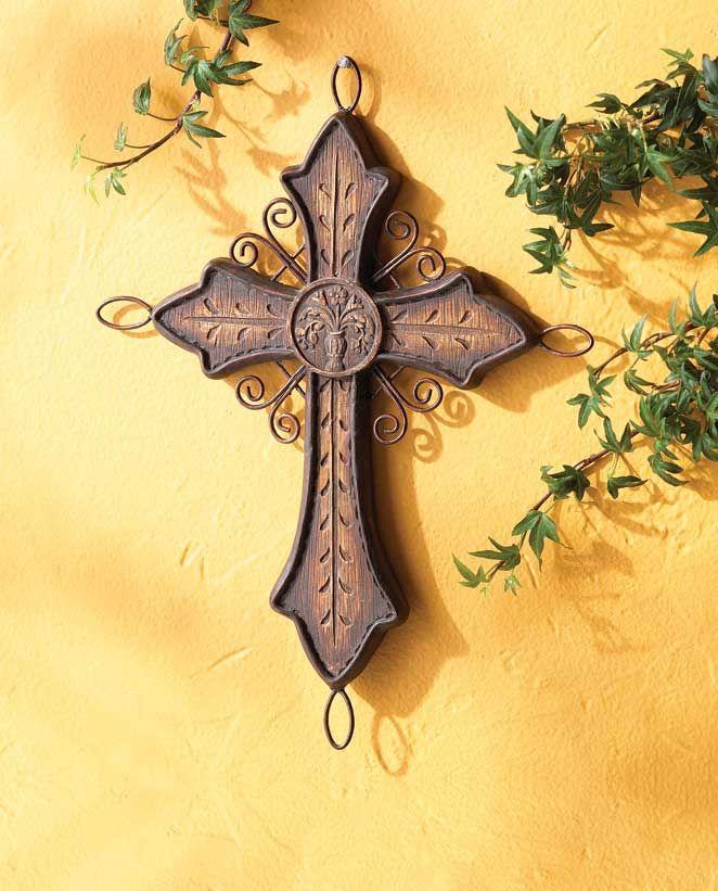 Iron Crosses Decor | Decor Wall Cross | Lovely Crosses | Pinterest ...