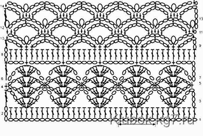 Precioso Bolero turquesa | Patrones de crochet y dos agujas | Puntos ...
