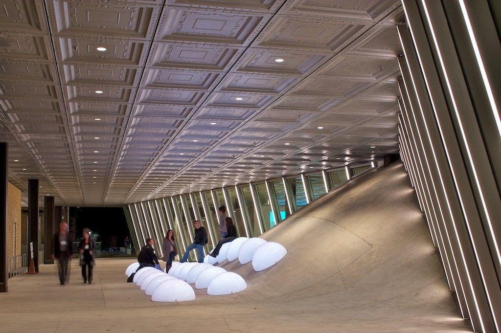 Gallery of milstein hall at cornell university oma 17 - Cornell university interior design program ...