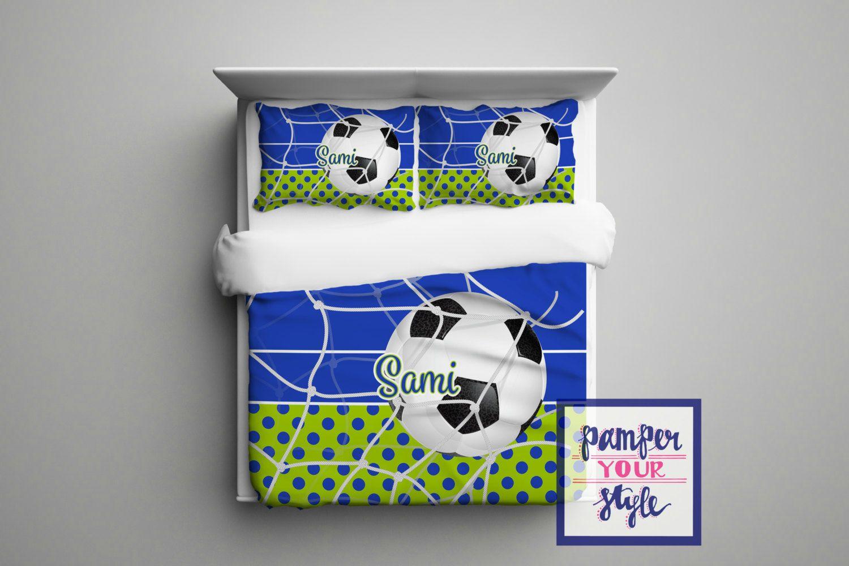 Awesome Soccer Bedding For Girls   Soccer Bedding For Boys   Bedding Soccer    Personalized Soccer Bedroom