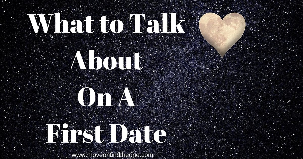 what to talk about on a first date with a guy