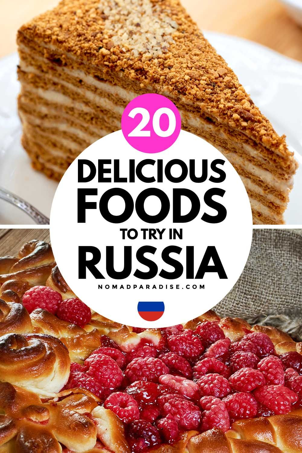 Best Russian Food To Try In Russia Russian Recipes International Recipes Food