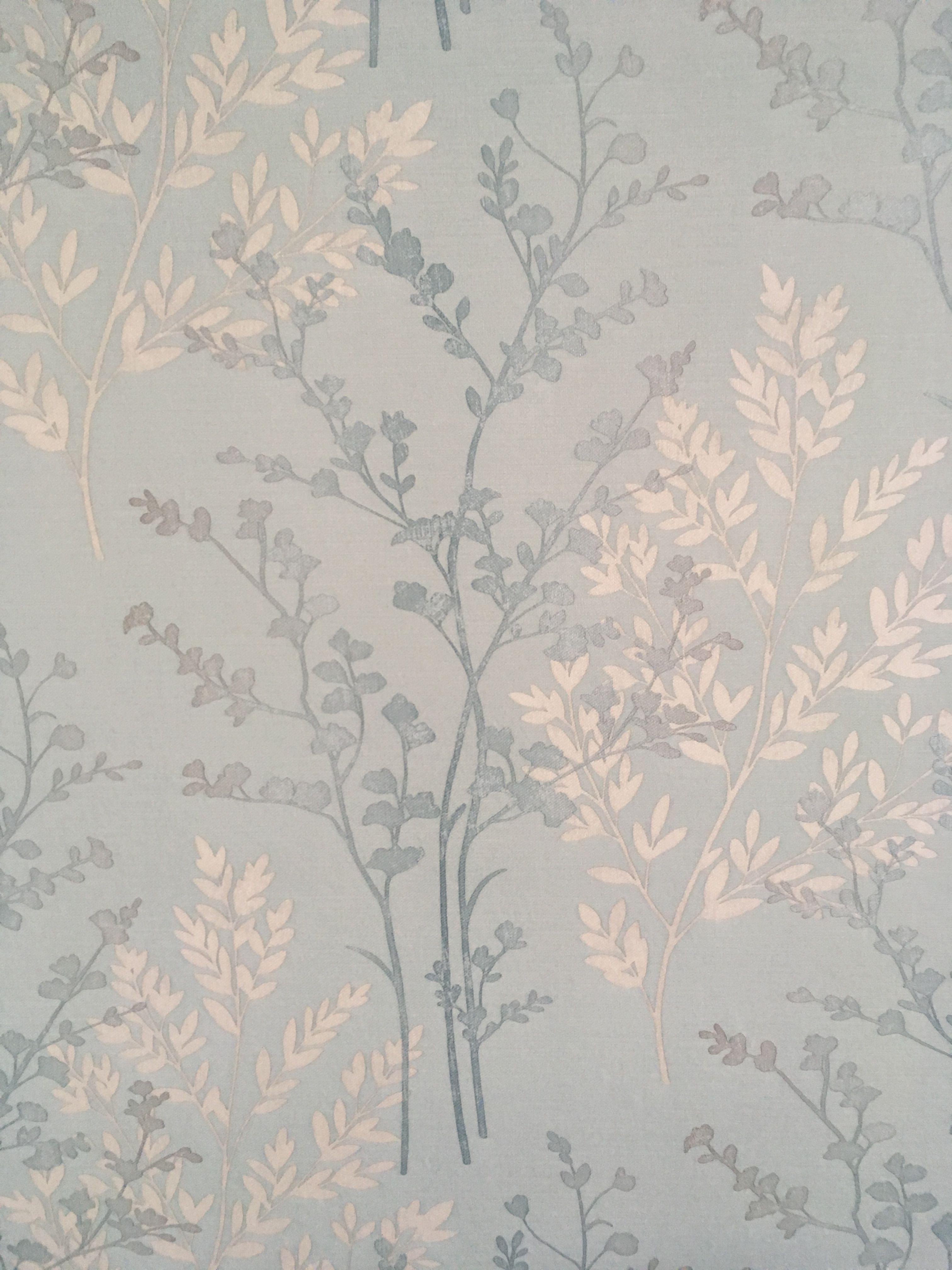 Wilko Fern Duck Egg Blue Wallpaper Teal Wallpaper Feature Wall Wallpaper Teal And Grey Wallpaper
