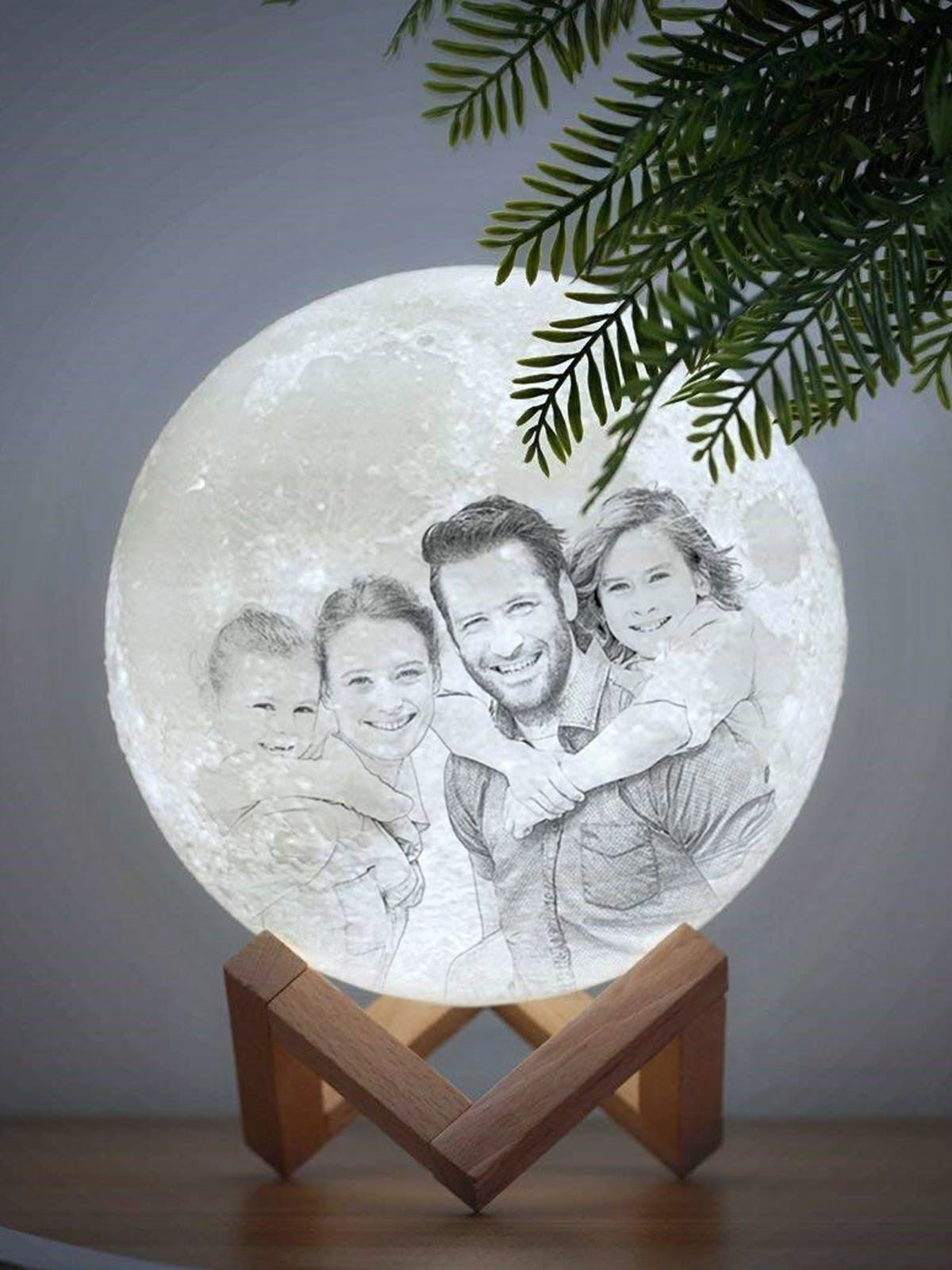 Personalized Photo Moon 3d Lamp In 2020 Personalised Gifts For Girlfriend 3d Lamp Print Your Photos