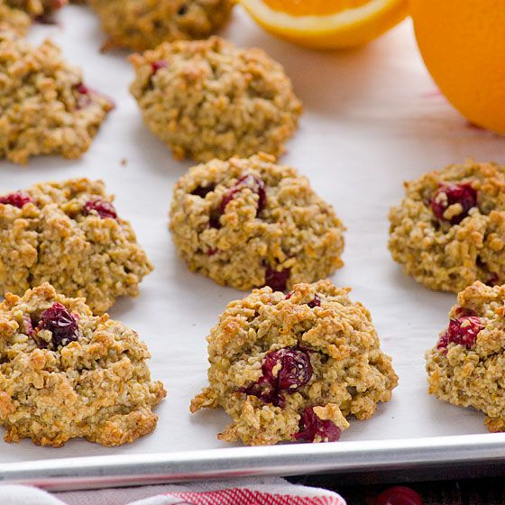 Gluten Free Cranberry Orange Cookies