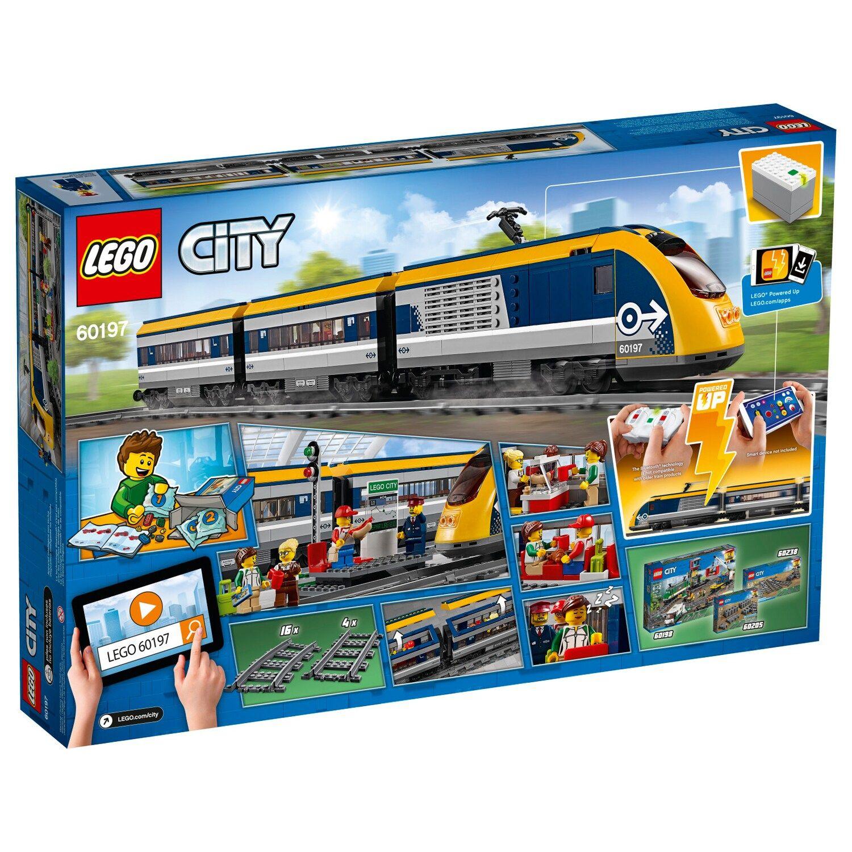 Lego City Passenger Train 60197 Lego City Train Lego City Lego Trains