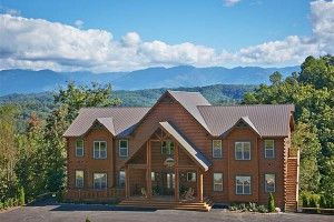Home To The Largest Rental Cabin In America  Http://www.hearthsidecabinrentals.