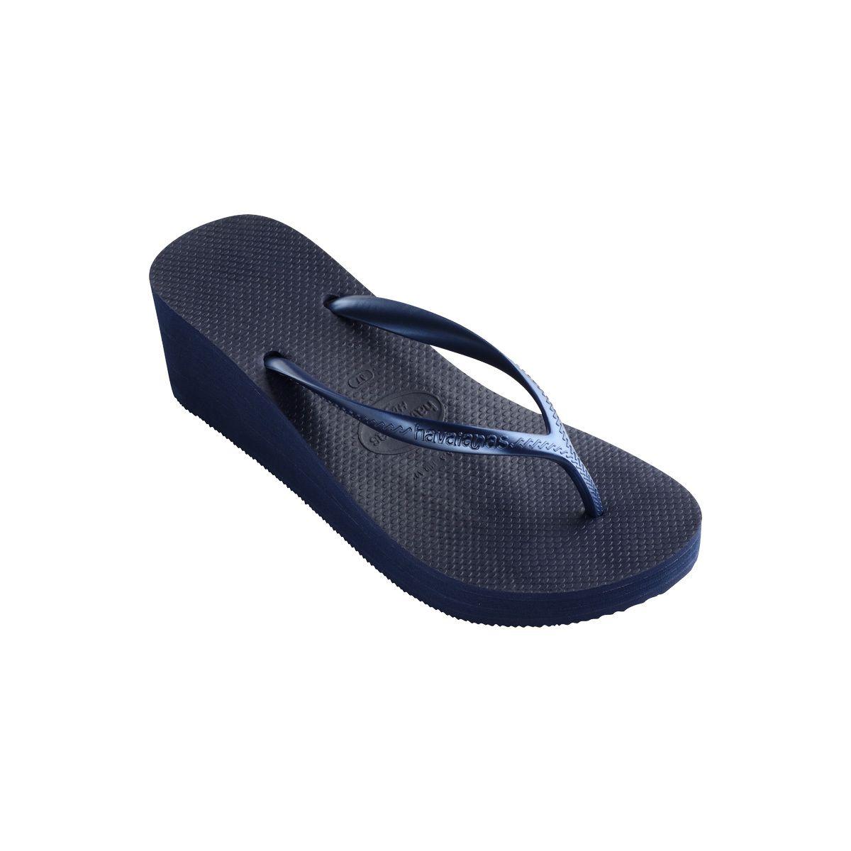 1dd0f77d Women's Navy Blue High Fashion Wedge Sandal - Havaianas | Swimwear ...