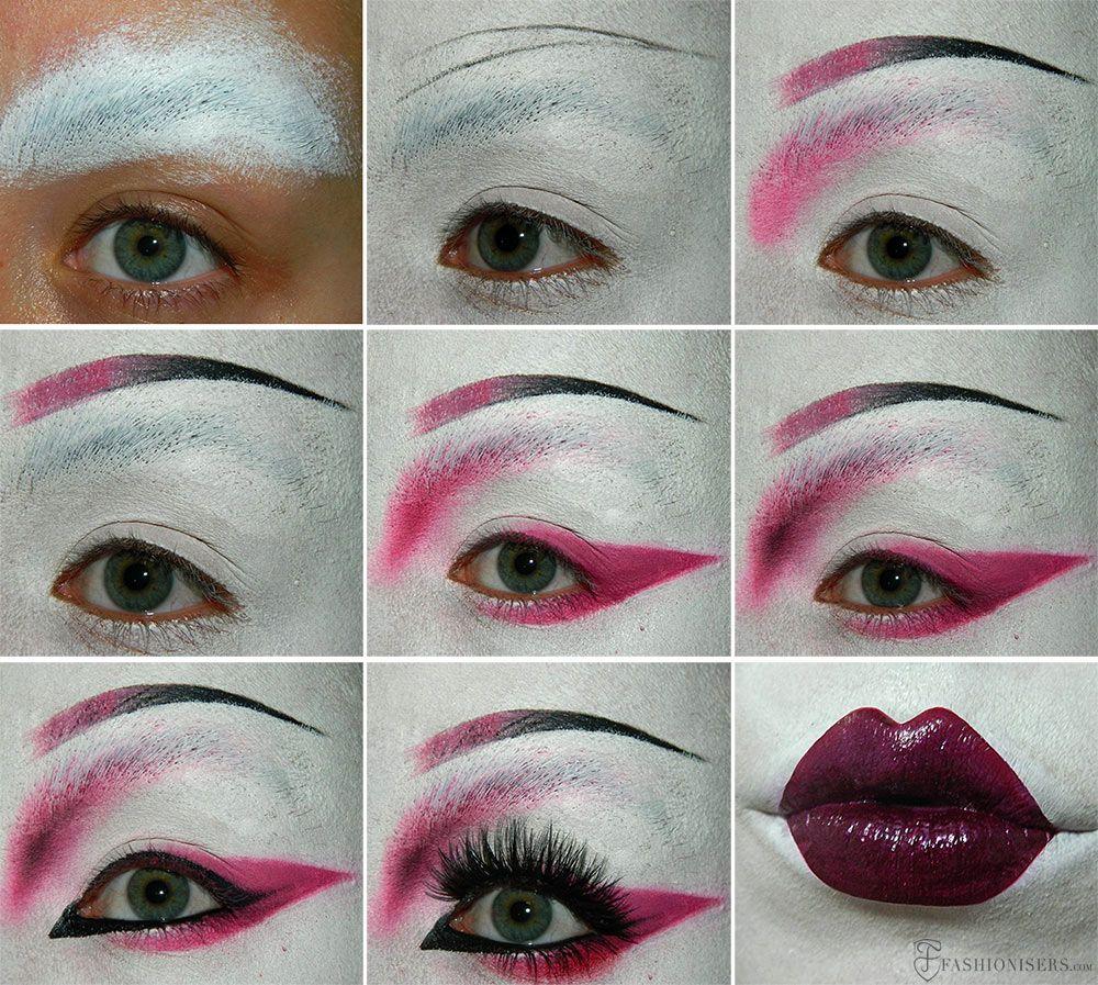 Geisha Makeup Tutorial for Halloween | Halloween, Beauty ...