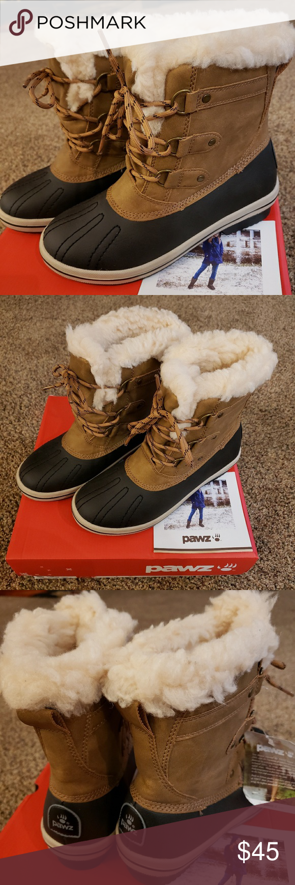 a645f019a12 PAWZ Fur Boots Size 7 Brand New Bearpaw Gina These are Brand New ...