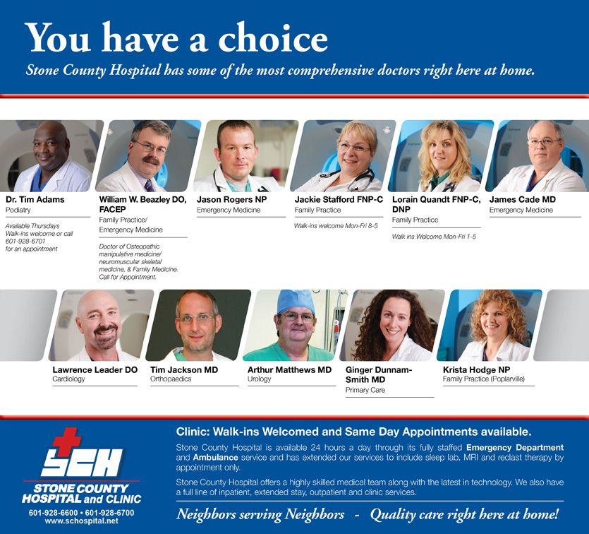 The Ad Group: Stone County Hospital Ad By The Focus Group
