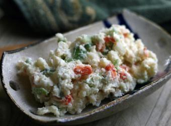 Recipe: Korean Potato Salad - a lot more flavor than your traditional recipe