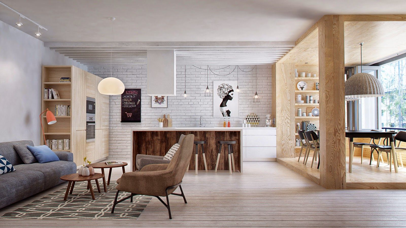 Interior Di 03 Jpg 1600 900 Casa Nova Pinterest -> Sala Simples Clean
