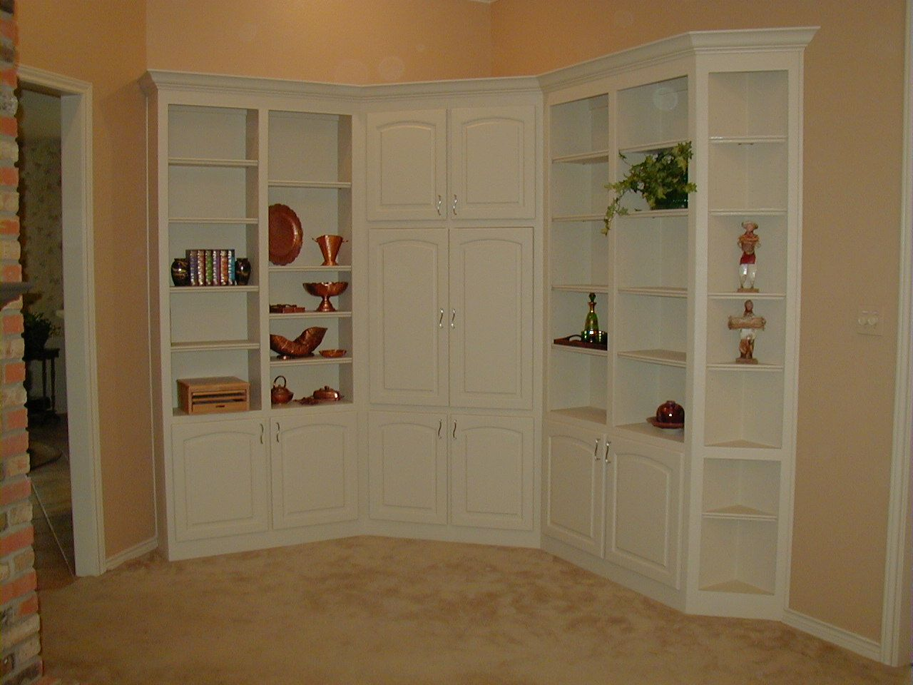 Bedroom Built In Corner Wall Units Fiorenza Custom