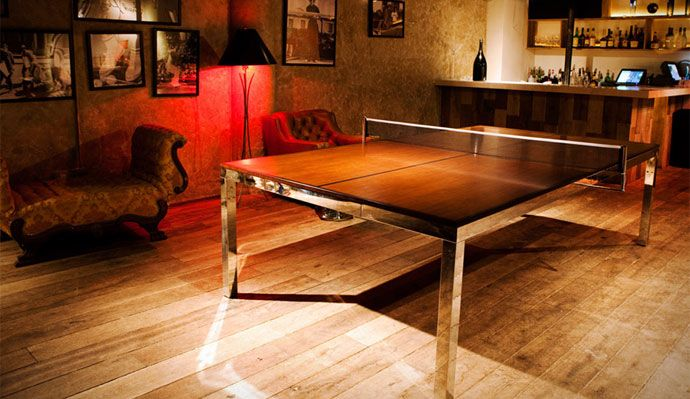 A Luxury Ping Pong Dining Room Table | Exciting Entertainment ...