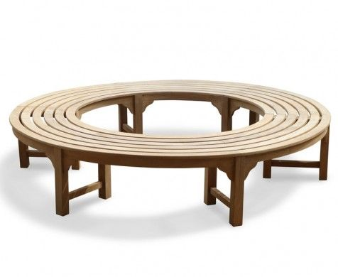 Awesome Saturn Teak Backless Round Tree Bench Circular Tree Bench Gmtry Best Dining Table And Chair Ideas Images Gmtryco